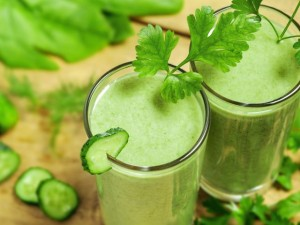 Smoothie raw detoxifiant si alcalin